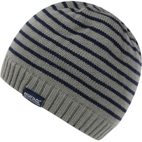Regatta Tarley Cap Kinderen, rockgrey marl/navy